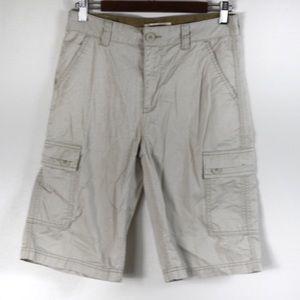 T427 Levi's Cargo Shorts Boys Size 16 Regular